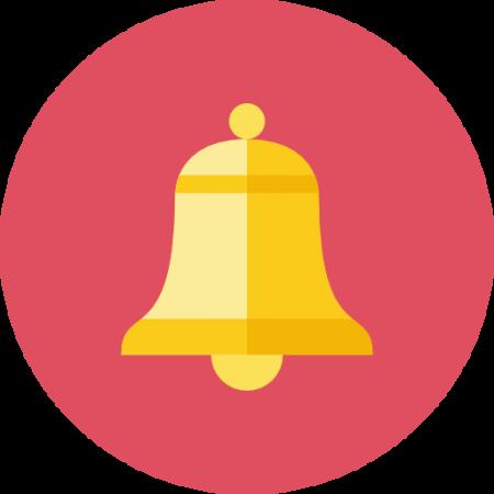 Bell icon 450x450 - بالا بردن امنیت پیج اینستاگرام در 5 مرحله به صورت حرفه ای