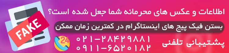 fakepage - فیک پیج اینستاگرام را در سریع ترین زمان ممکن حذف کنید! | جلوگیری از انتشار اطلاعات محرمانه